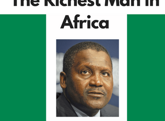 Picture of the richest man in Africa