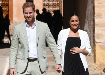 Picture of Prince Harry and Meghan