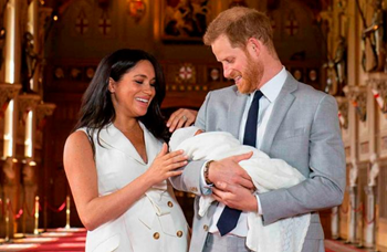 Baby Sussex first appearance