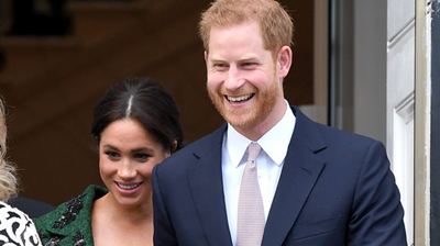 Picture of prince Harry and Megha