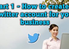Picture how to create twitter business account