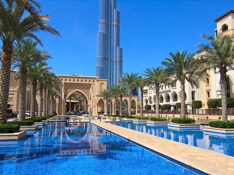 Picture of eciting place and things in Dubai
